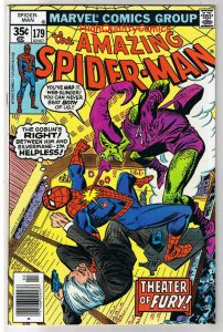 AMAZING SPIDER-MAN #179, VF/nm, Green Goblin, Ross Andru,1963,more ASM in store