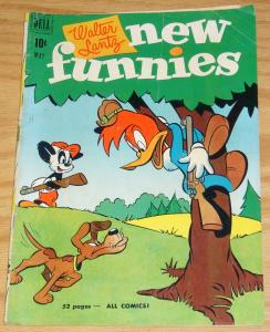 Walter Lantz New Funnies #171 VG+ may 1951  woody woodpecker andy panda 52 pages