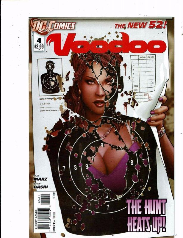 Lot of 4 New 52 Voodoo DC Comic Books #4 5 6 7 LH5