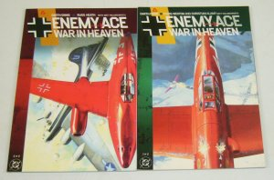 Enemy Ace: War In Heaven #1-2 VF/NM complete series - garth ennis - dc ccomics