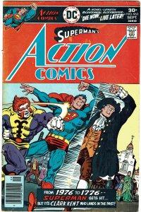 Action Comics #463 - Superman FN