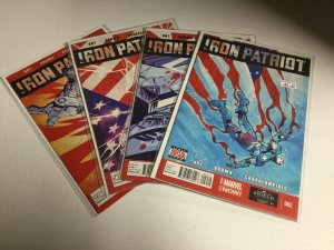 Iron Patriot 2 3 4 5 Lot Nm Near Mint Marvel Comics