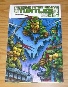 Teenage Mutant Ninja Turtles Deluxe Edition HC 1 VF/NM change is constant