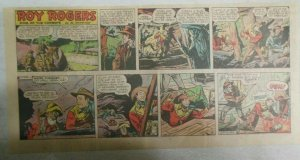 Roy Rogers Sunday Page by Al McKimson from 11/18/1951 Size: 7.5 x 15 inches