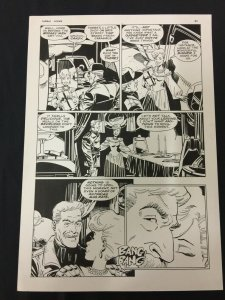 Captain Cosmos Page 31 Original Art Joe Stanton Nicola Cuti Space Opera