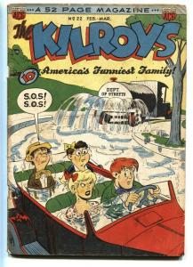 Kilroys #22 1950- Golden Age Humor- G+