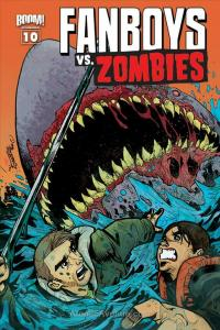 Fanboys Vs. Zombies #10B VF/NM; Boom!   save on shipping - details inside
