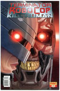 TERMINATOR ROBOCOP Kill Human #1 2 3 4, NM-, Robot, Cyborg, 2011,more in store,C