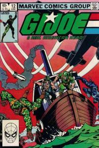 G.I. Joe: A Real American Hero (1982 series) #12, VG (Stock photo)