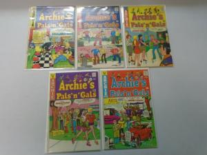 Bronze Age Archie Pals 'n' Gals comic lot 10 different from #90-140 6.0/FN (1974