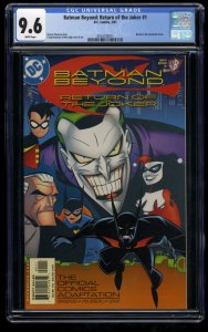 Batman Beyond: Return of the Joker #1 CGC NM+ 9.6 White Pages