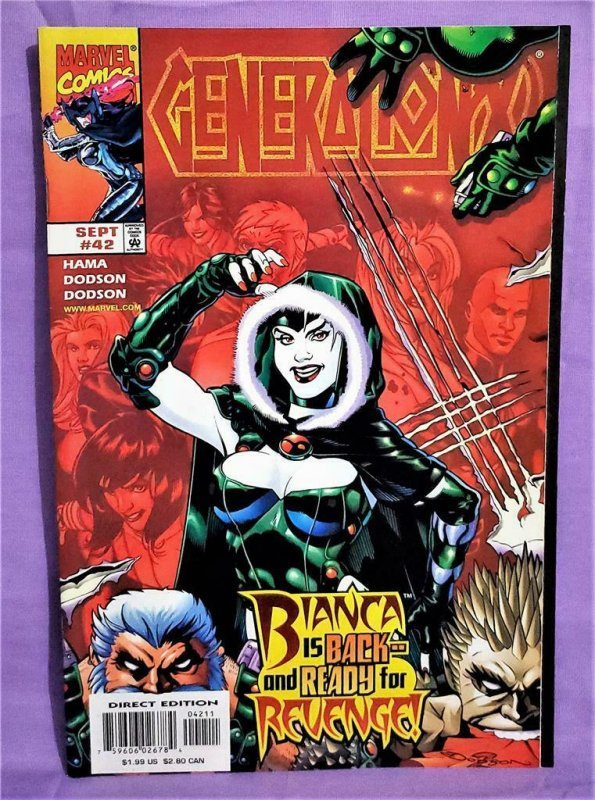 Larry Hama GENERATION X #42 & 44 Terry Dodson Rachel Dodson (Marvel, 1998)!