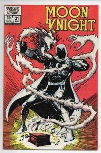 MOON KNIGHT #31, VF+, 1980 1983, Sienkiewicz, Savage Studs, more Marvel in store