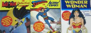 BATMAN/SUPERMAN/WONDER WOMAN MINI-FOLIOS! Cover Collections!