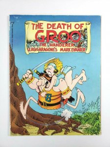 Death of GROO Epic Comics Graphic Novel 1987 First Printing Sergio Aragones