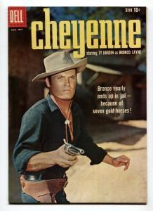 Cheyenne #12 1959- Dell Western- TY HARDIN VF+