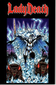CHAOS! Comics -  Lady Death: The Reckoning! Softcover! Great Looking Book!