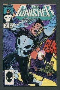 Punisher #4 / 8.5 VFN+ (1st Microchip)  November 1987