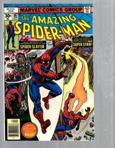Amazing Spider-Man # 167 NM Marvel Comic Book MJ Vulture Goblin Scorpion TJ1