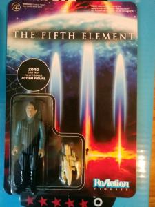 Funko Reaction Figures The Fifth Element Zorg - Unpunched card (2015)