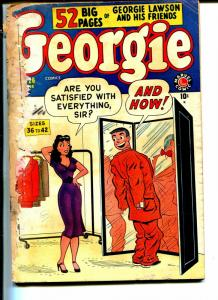 Georgie #26 1950-Marvel-wacky humor-Good Girl Art-P/FR
