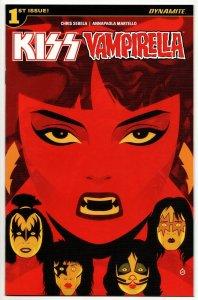 Kiss Vampirella #1 Cvr A (Dynamite, 2017) NM