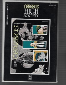 Cerebus: High Society #21 (1990, Aardvark-Vanaheim)