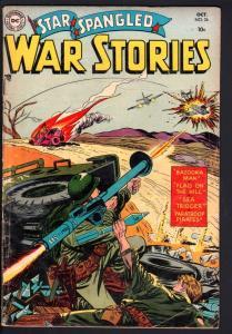 STAR SPANGLED WAR STORIES #26-1954-DC WAR COMIC-GOLDEN AGE-VG VG