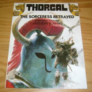 Thorgal SC 3 VF/NM the sorceress betrayed - jean van hamme - grzegorz rosinski