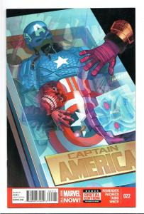 Captain America #22 (Marvel, 2014) NM
