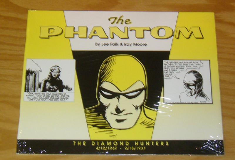 the Phantom: the Diamond Hunters #1 VF/NM lee falk 4/12/1937-9/18/1937 ray moore