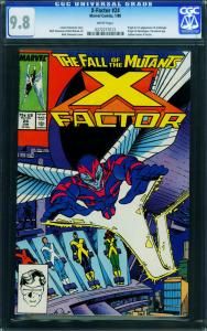 X-FACTOR #24-First ARCHANGEL!-1988-Key Issue-CGC 9.8 0272277013