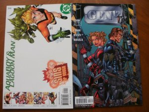 2 Near-Mint Comic: DC SINS OF YOUTH Aquaboy & Lagoon Man #1 + Image GEN 12 #3