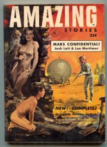 Amazing Stories April 1953- 1st digest issue- Bradbury VF