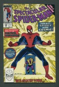 Peter Parker,Spectacular Spiderman #158 / 7..5 VFN- /  December 1989