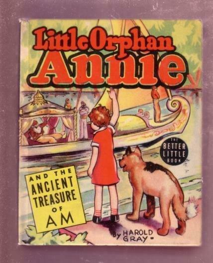 LITTLE ORPHAN ANNIE-1939, # 1414-ANCIENT TREASURE OF AM VF/NM