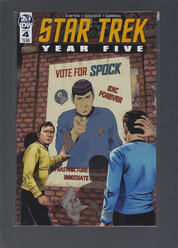 Star Trek: Year Five #4 (2019)