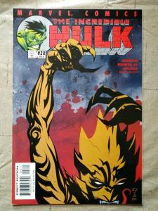 Incredible Hulk #28 (502) 1st Cover App Devil Hulk Marvel Comics 2001 Key Issue