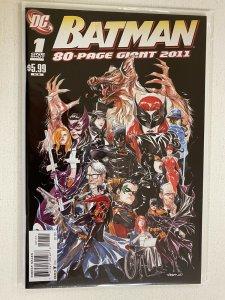 Batman 80 Page Giant 2011 #1 8.0 VF (2011)