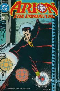 Arion the Immortal #2 VG; DC | low grade comic - save on shipping - details insi