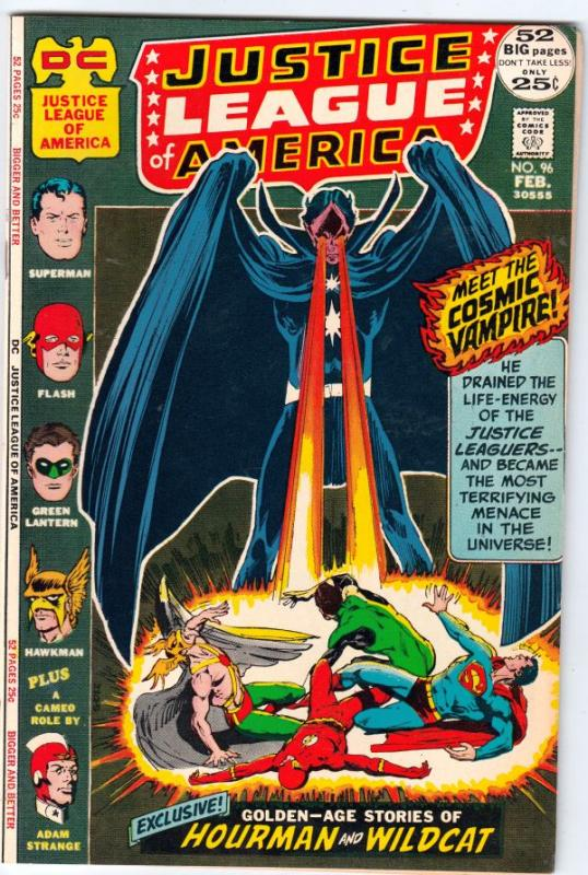Justice League of America #96 (Feb-72) NM Super-High-Grade Justice League of ...