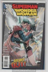 SUPERMAN WONDER WOMAN (2013 DC) #4 NM