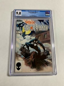 Web Of Spider-man 1 Cgc 9.8 White Pages Last Black Costume Venom