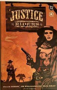 Justice riders #1 8.0 VF (1996)