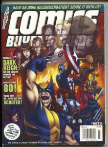 Comics Buyer's Guide #1651 2009-Wolverine cover-comic info & price guide-FN
