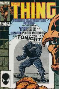 Marvel THE THING (1983 Series) #28 FN+