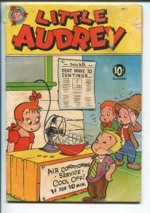 LITTLE AUDREY #13 1950-ST JOHNS-AIR CONDITIONING SATIRE-fr