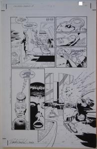PAUL GULACY / RANDY EMBERLIN original art, STAR WARS CRIMSON EMPIRE II #1 pg 10
