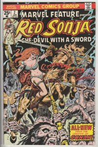 Marvel Feature presents Red Sonja #2 (Jan-76) NM- High-Grade Red Sonja