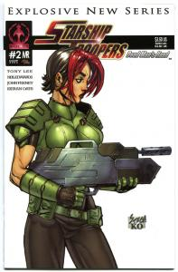 STARSHIP TROOPERS #2 B, NM, Markosia, Bugs, Sci-fi, 2006, more Horror in store